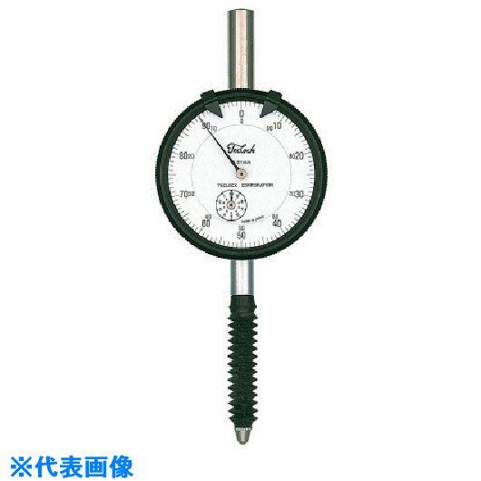 ■テクロック ダイヤルゲージ 測定範囲20MM〔品番:KM-121PW〕[TR-8380264]