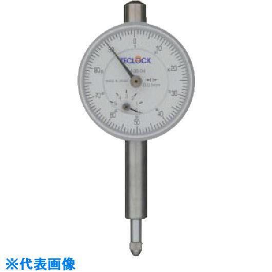 ■テクロック 小型ダイヤルゲージ 測定範囲5MM〔品番:TM-35-04F〕[TR-8380301]