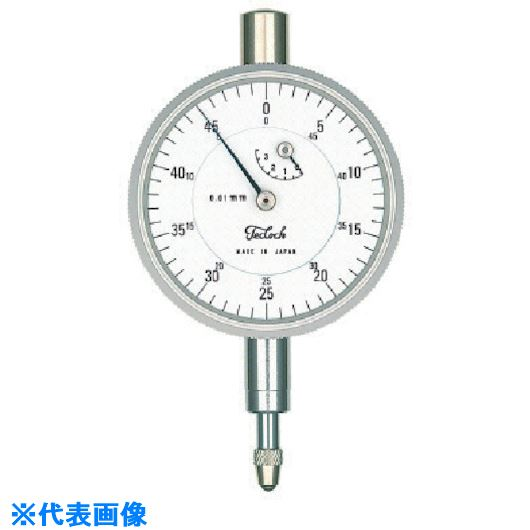 ■テクロック 小型ダイヤルゲージ 測定範囲3.5MM〔品番:TM-37〕[TR-8380304]