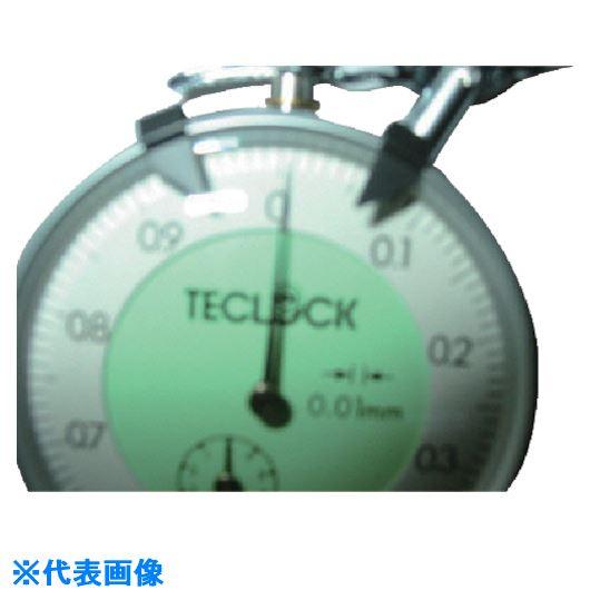 ■テクロック ダイヤルシックネスゲージ 測定範囲10MM〔品番:SM-114P〕[TR-8380334]