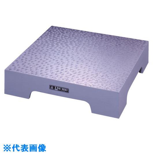 ■ユニ 箱型定盤(B級仕上)350x350x60mm〔品番:U-3535B〕[TR-8381741 ]【送料別途お見積り】