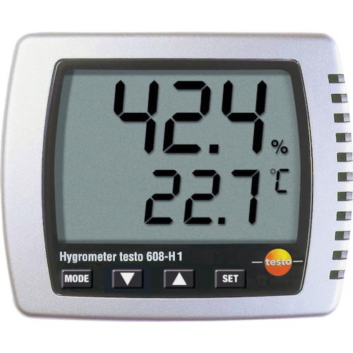 ■テストー 卓上式温湿度計  〔品番:TESTO608-H1〕[TR-8382572]
