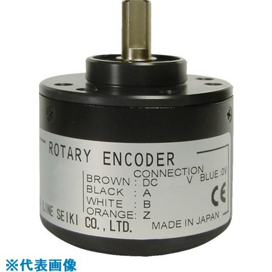 ■ライン精機 ロータリーエンコーダ 供給電源 DC12~24V±10%〔品番:CB-250HC〕[TR-8383282]【大型・重量物・個人宅配送不可】