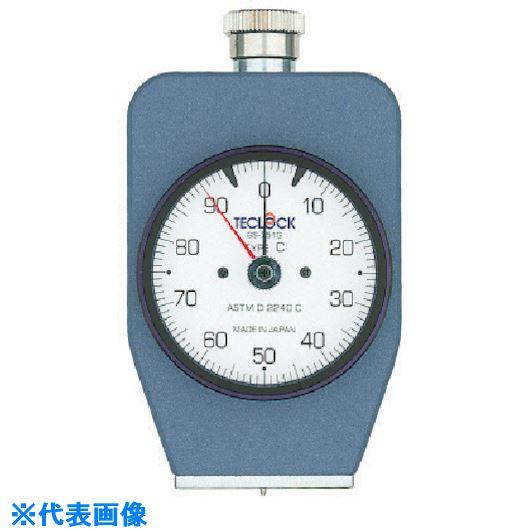 ■テクロック ゴム・プラスチック硬度計〔品番:GS-703G〕[TR-8383320]