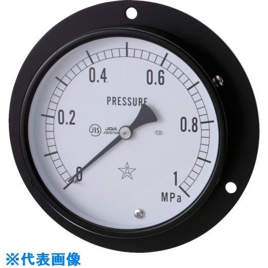 ■右下 一般圧力計  〔品番:G433-211-10MPA〕外直送[TR-8383515]【送料別途お見積り】