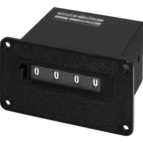 ■ライン精機 電磁カウンター(リセットツキ)4桁〔品番:MCR-4PN〕[TR-8383778]