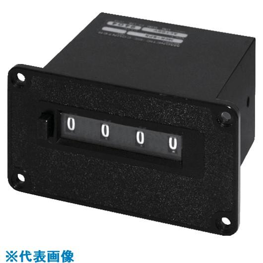 ■ライン精機 電磁カウンター(リセットツキ)4桁〔品番:MCR-4PN〕[TR-8383780]