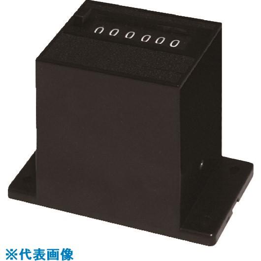 ■ライン精機 電磁カウンター(リセットツキ)6桁〔品番:MCR-6CN〕[TR-8383789]