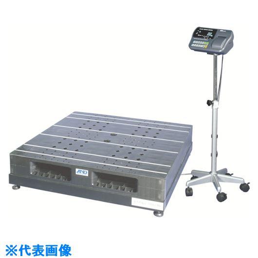 ■A&D パレット一体型デジタル台はかり 検定付  〔品番:SN1200K-K〕[TR-8384615]【大型・重量物・個人宅配送不可】