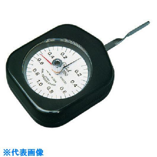 ■テクロック ダイヤルテンションゲージ 測定範囲0.1~1N〔品番:DTN-100G〕[TR-8384766]