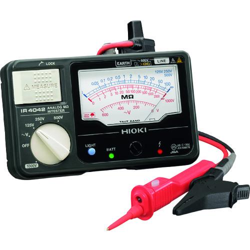 ■HIOKI メグオームハイテスタ 交流電圧(V)600  〔品番:IR4042-11〕[TR-8385008]