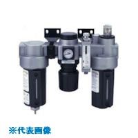 ■日本精器 FRLユニット 10A モジュラ接続タイプ圧力スイッチ付  〔品番:BN-25T6DP-10〕取寄[TR-8387318]