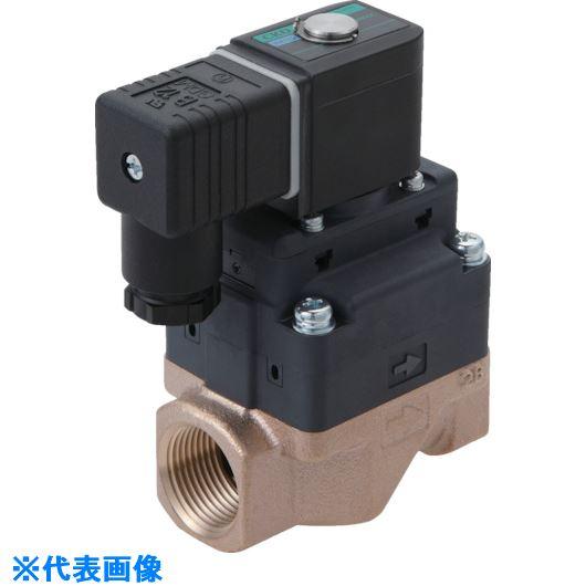 ■CKD 水用小形パイロット式電磁弁〔品番:FWD11-10A-02GSB-AC200V〕[TR-8387867]