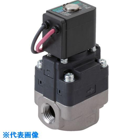 ■CKD 水用小形パイロット式電磁弁〔品番:FWD11-10A-D2CB-AC100V〕[TR-8387884]