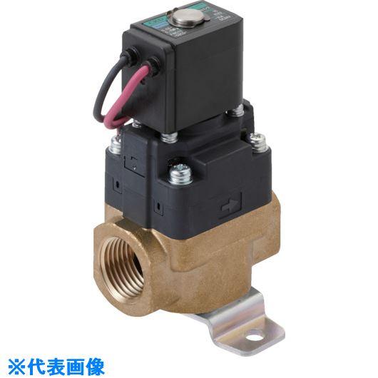 ■CKD 水用小形パイロット式電磁弁〔品番:FWD11-10A-D2CS-AC100V〕[TR-8387888]