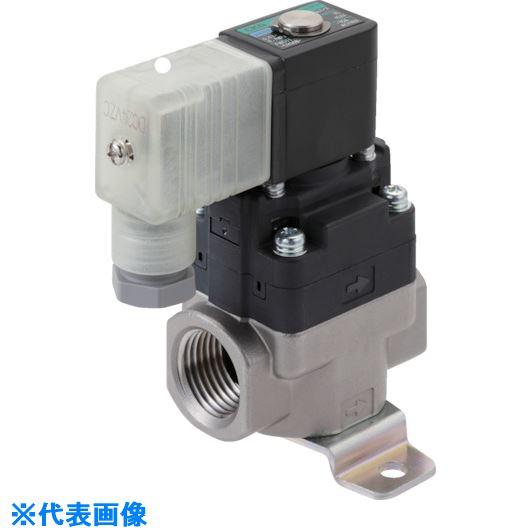 ■CKD 水用小形パイロット式電磁弁〔品番:FWD11-20A-02GS-AC100V〕[TR-8387999]