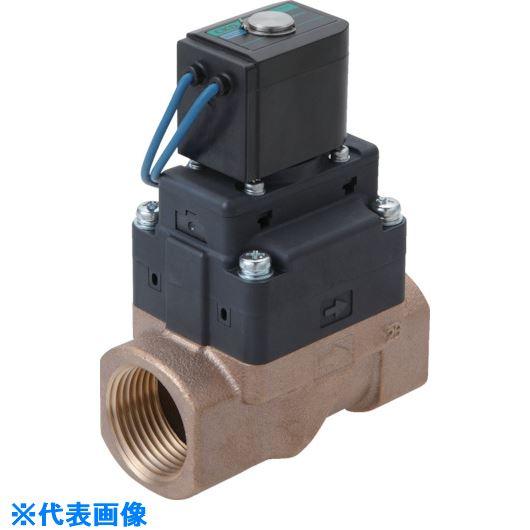 ■CKD 水用小形パイロット式電磁弁〔品番:FWD11-20A-02HS-AC100V〕[TR-8388005]