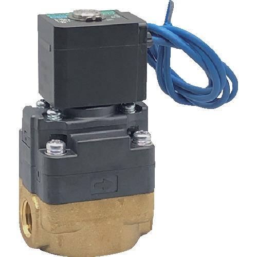 ■CKD 水用小形パイロット式電磁弁〔品番:FWD11-25A-02C-AC100V〕[TR-8388026]