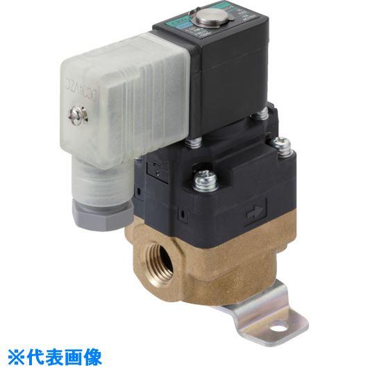 ■CKD 水用小形パイロット式電磁弁〔品番:FWD11-8A-02H-AC200V〕[TR-8388087]