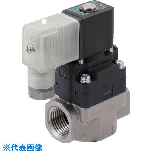 ■CKD 水用小形パイロット式電磁弁〔品番:FWD11-8A-D2C-AC200V〕[TR-8388099]