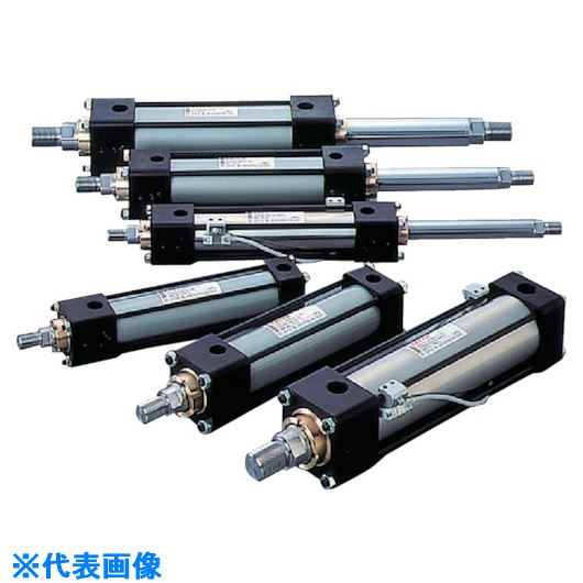 ■TAIYO 油圧シリンダ  〔品番:100H-21SD80BB200-AB-K〕[TR-8389690]