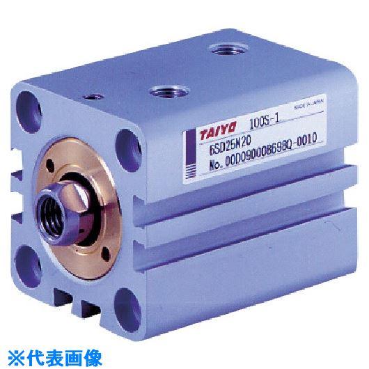 ■TAIYO 薄形油圧シリンダ  〔品番:100S-16SD25N25〕[TR-8392221]
