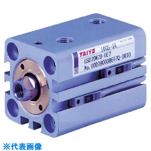 ■TAIYO 薄形油圧シリンダ  〔品番:100S-1R6SD25N15-UA2〕[TR-8392261]