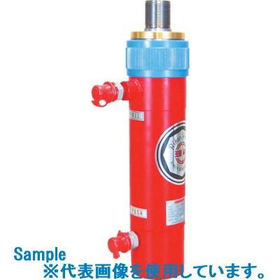 ■RIKEN 油圧機複動式油圧シリンダ-  〔品番:D5-500〕外直送[TR-8481004]【大型・重量物・個人宅配送不可】