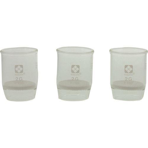 ■SIBATA ガラスろ過器 2GP160  (3個入)  〔品番:013050-2160A〕[TR-8481450]