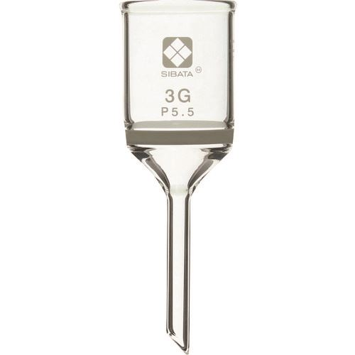 ■SIBATA ガラスろ過器 3GP5.5  (3個入)  〔品番:013110-35A〕取寄[TR-8481498]
