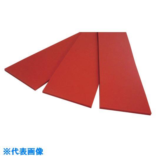 ■AK シリコンスポンジ切板 寸法3×300×1000MM〔品番:ASS3X300X1000〕[TR-8486243]