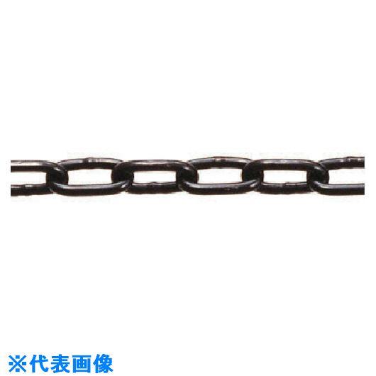 ■水本 ステンレス 高級ミニチェーン ブラック15m 線径2mm〔品番:2AB〕[TR-8490216]