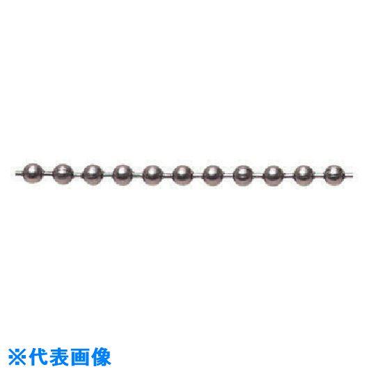 ■水本 ステンレス ボールチェーン30M 玉径3.2MM〔品番:3.2-R〕[TR-8490219]
