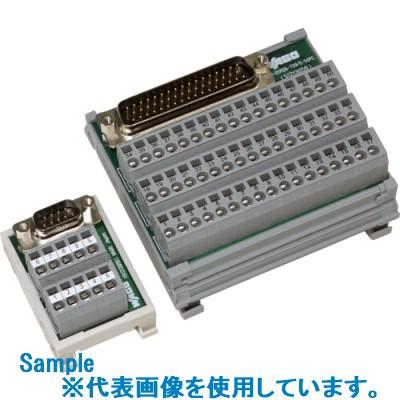 ■WAGO 1対1コネクタ端子台 D-SUBコネクタ-対応 W90.2×L85×H37.3  〔品番:IM-DSM26-739/5-50PC〕[TR-8500029]