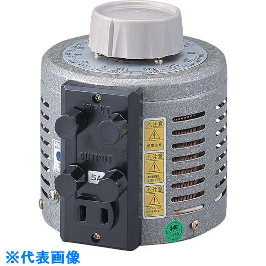■山菱 ボルトスライダー据置型 電圧調整器 最大電流10A 入力電圧200V  〔品番:S-260-10M〕外直送元[TR-8500561]【個人宅配送不可】