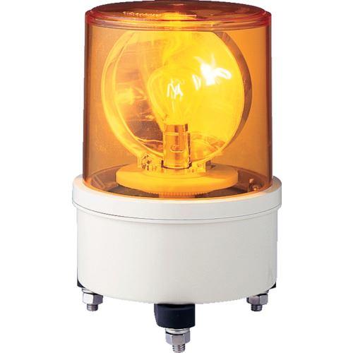 ■シュナイダー AM型電球回転灯 35W DC12V 黄 Y 〔品番:AM-12〕[TR-8500675]