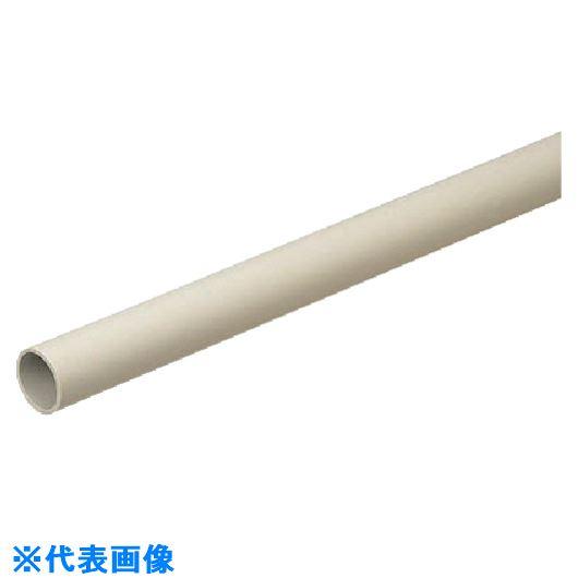 ■未来 硬質ビニル電線管(J管)2M 30個入 〔品番:VE-22J2〕[TR-8502374×30]【大型・重量物・個人宅配送不可】
