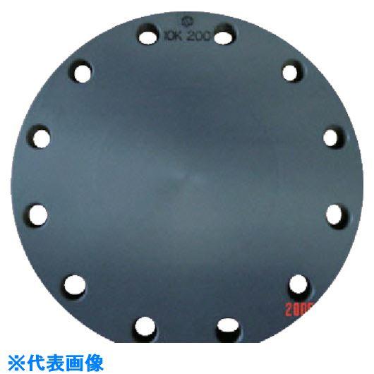 ■エスロン 板フランジSB型 200 JIS10KPVC  〔品番:FSB2H〕[TR-8506183]