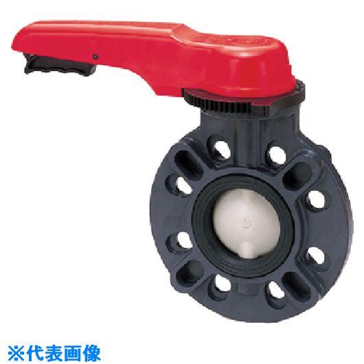■アサヒAV 57バタフライバルブ PVC/PP/EPDM 10K50A レバー〔品番:VBFUEF10507L〕[TR-8506756]