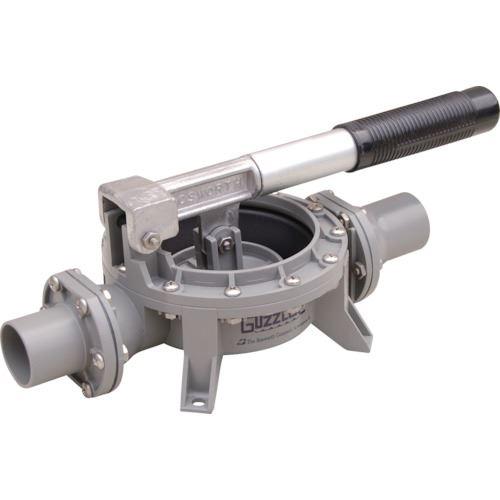 ■アクアシステム 樹脂製ハンドダイヤフラムポンプ オイル 水 泥水(移送・非常用)  〔品番:HDO-32P〕[TR-8510015]