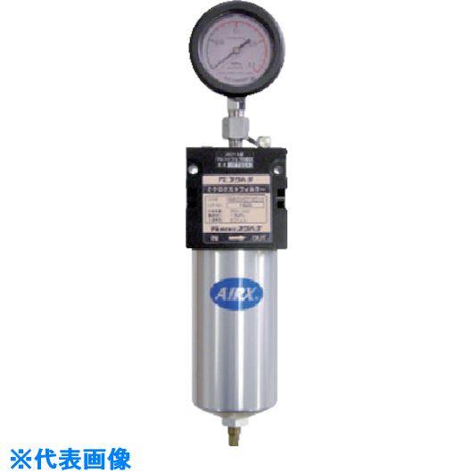 ■フクハラ 活性炭フィルター(差圧計付)  〔品番:CM350ADF-M01-2〕外直送[TR-8510435]