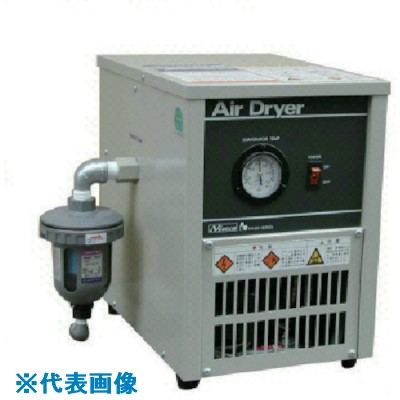 ■日本精器 冷凍式エアドライヤ15HP〔品番:NH-8040B〕[TR-8510509]【個人宅不可 運賃別途お見積り】