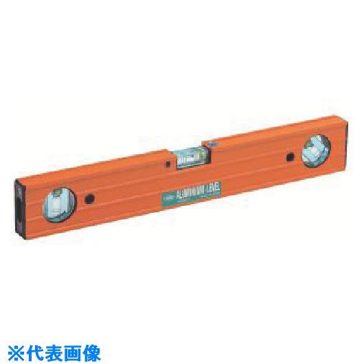 ■KOD 箱型アルミレベル45°付 1200MM  〔品番:L-300Q-120〕[TR-8511402]