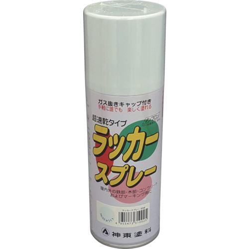 ■シントー ラッカースプレー ホワイト 300ML《48缶入》〔品番:3102-0.3〕[TR-8511906×48]