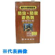 ■シントー ウッドカラー とうめい 4L《4缶入》〔品番:3801-4.0〕[TR-8511990]