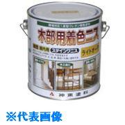 ■シントー ステインワニス チーク 0.7L 6缶入 〔品番:5281-0.7〕[TR-8512121×6]