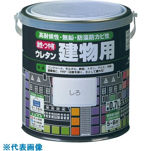 ■ロック 油性ウレタン建物用 銀 0.7L《6缶入》〔品番:H06-0536〕[TR-8512193]