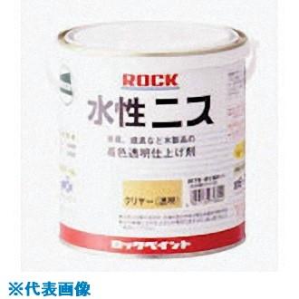 ■ロック 水性ニス ゴールデンオーク 0.7L 6缶入 〔品番:H75-0157-03〕[TR-8512479×6]