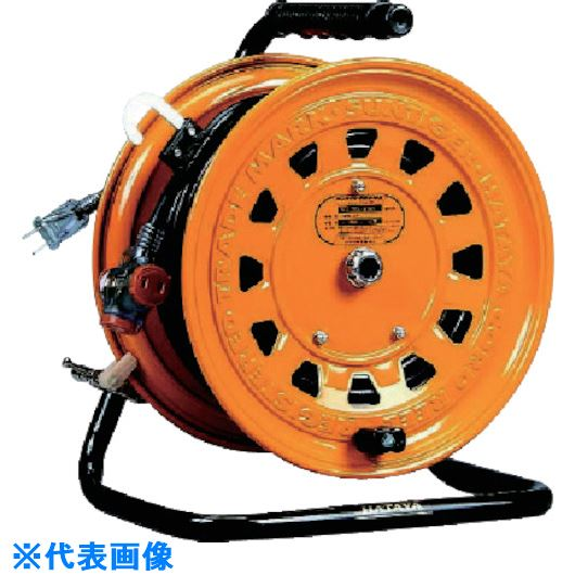■ハタヤ 逆配電型コードリール サンタイガーテモートリール 単相100V30+3M  〔品番:TG-130〕[TR-8513829]