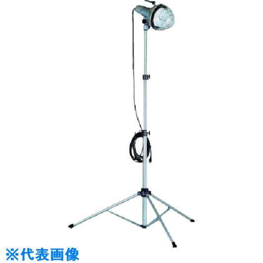 ■ハタヤ 防雨型ハイハイスタンド付 バラストレス水銀ランプ750W 100V10m〔品番:RMHA-7510K〕[TR-8513939]